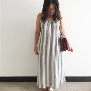 Maxi dress with open back from Urban Outfitters